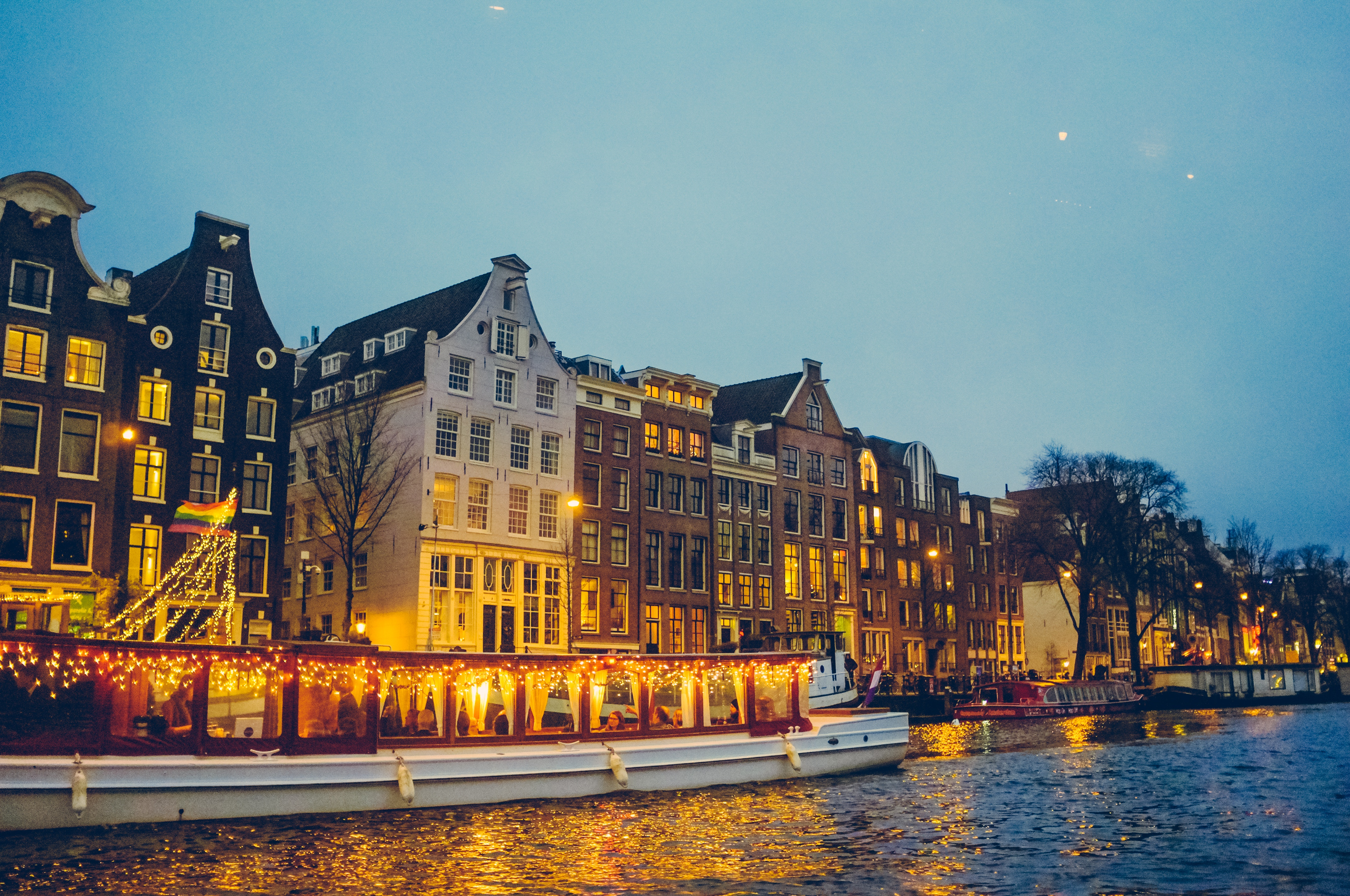 Amsterdam canals & houses
