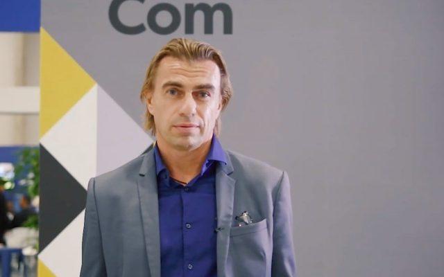 Matthieu Merlio at AfricaCom 2018